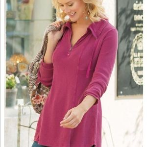Soft Surroundings Fireside Tunic Size XSmall
